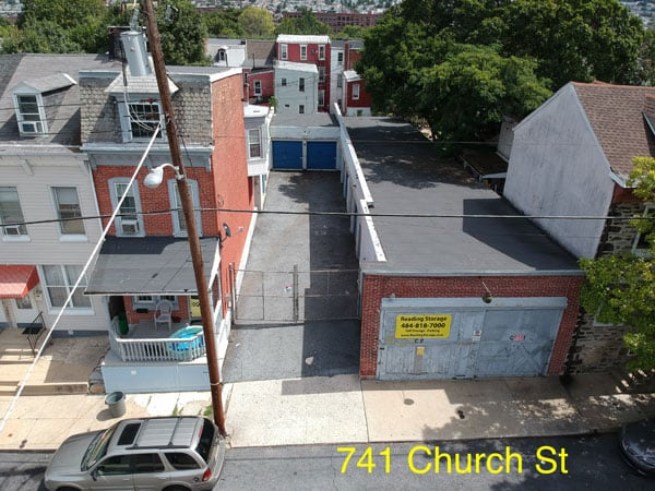 Reading storage church steet facility