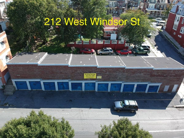 Reading storage W windsor street facility